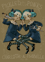 Pickled punks twins. by Embryu