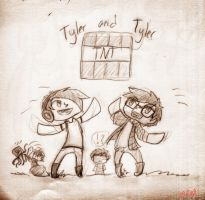 Ty and Tyler: They're Dynamite! by NinjaNekoAru