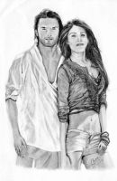 Ladies vs Ricky Bahl Drawing by MickeyTheSaviour