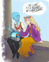 You're just as weird as me by LordSiverius