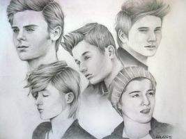 Illustration Plate - Boys by ffdiaries958