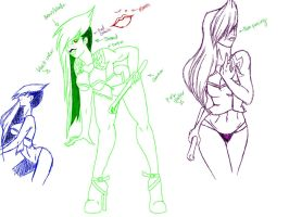 Doodles by Biohazard-Babe