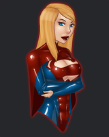 25 Dollar Bust Commission - Supergirl II by LexiKimble