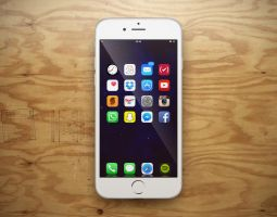 iPhone 6+ row by schat2