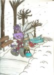 'A Winter Wonderland', Silvaze by Aros2
