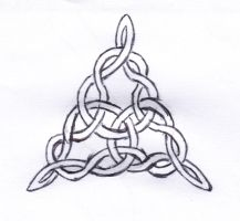 Celtic Triangle knot by wilhem1971