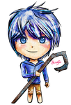 Jack Frost Chibi by FaithWalkers