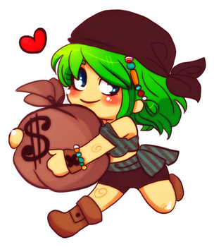 Pirate Girl Maple by tabby-like-a-cat