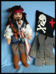 Jack Sparrow by DarkDollArt