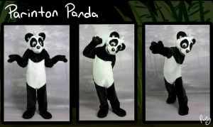 Parinton's fursuit by pandapaco