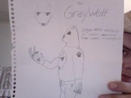 The Grey Wolf by PonchoFirewalker01