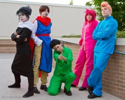 Yu Yu Hakusho: Cool Kids by sunlitebreeze