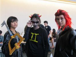 Xion and Sollux and Axel by Rioxnation