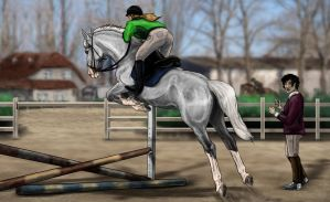 BEC Show Jumping Clinic 2 by life-d-sign