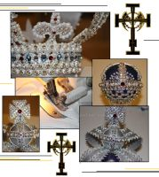 Jewels of a Queen (bling bling! *_____*) by Eselia