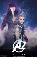 Quicksilver and Scarlet Witch - Avengers 2 by DiamondDesignHD