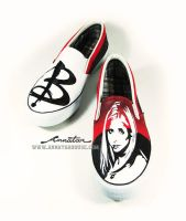 Buffy Vampire slayer , custom shoe by Annatar by Annatarhouse