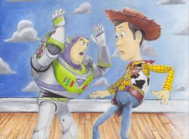 Toy Story by Sketch-Monkey