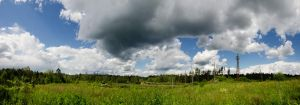 Finnish sky panorama by Jc428