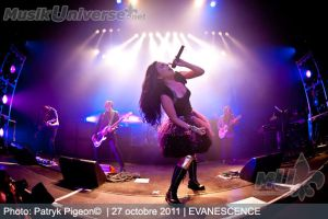 Evanescence - Live 2011 by MrSyn