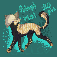 .:ADOPT ME FOR 20 POINTS:. :D by Mewpop