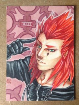 Axel - ACEO by Blue-Ions