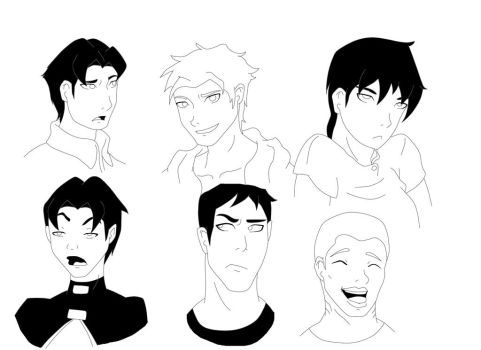 Expression practise YJ by WickedCurlyFeather
