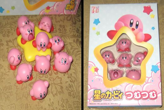 New Kirby set by avaneshop