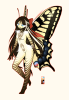 Butterfly Girl [Adoptable] CLOSED by Siraviena