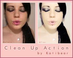 Katibear PS Clean Up Action by KatiBear
