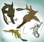 Sawsharks by Shimmerpaw