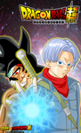 Mirai Trunks vs Bardock Evil (version dbs) by jaredsongohan