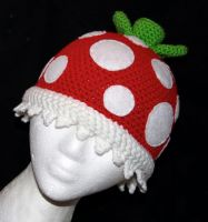 Mario Piranha Plant Beanie by rainbowdreamfactory
