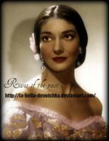 Maria Callas by La-Bella-Devotchka