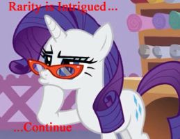 Rarity is Intrigued by BronieToTheCore