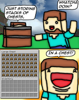 Minecraft Chest Inception by thegamingdrawer