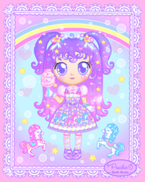 Sugary Carnival Lolita by Princess-Peachie
