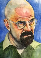 Walter White by bloatedwhalecorpse