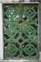 Temple Window 3 by Rivendell-PhotoStock