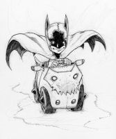 Little Batman riding along by Axel13-Gallery
