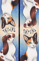 Bookmark Commission: Past and Present by Avanii