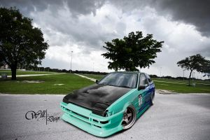 Toyota - AE86 by WillCarDesign