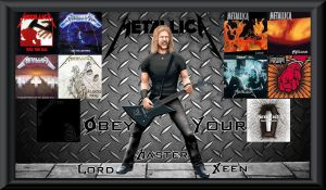 James Hetfield Albums WP by Lord-Xeen