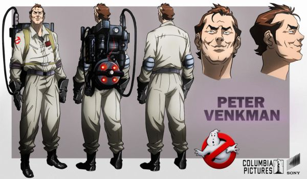 Peter Venkman animated by CHUBETO