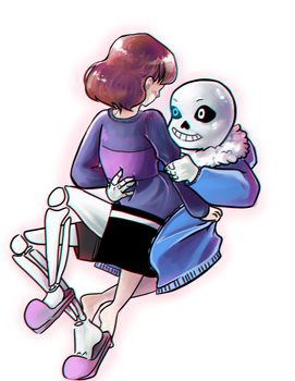 Sans and main by ChubbyCollections