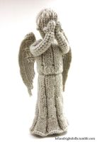 Weeping Angel by leftandrightdolls