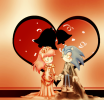 Sonic and Mina by MikoChan