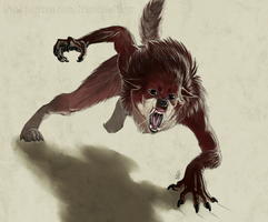 The Littlest Werewolf by TeknicolorTiger