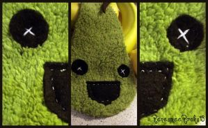PEAR PLUSIE :not finished: by RenesmeeRocks13
