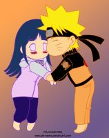 NaruHina Chibis 2 Season Color by MiaKa-CiD